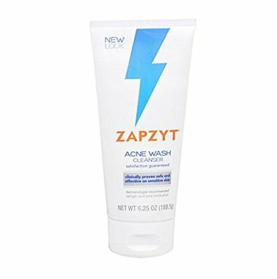 ZapZyt Acne Wash, 6.25 oz -Expiration Date 04-2019-