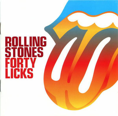 THE ROLLING STONES Forty Licks 2CD Virgin Music (2002) 2 CD SET (new & sealed)
