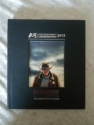 LONGMIRE The Complete First Season A&E For Your Emmy Consideration DVD Set 2013
