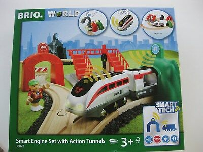 BRIO WORLD Großes Smart Tech Reisezug Set Art. Nr. 33873
