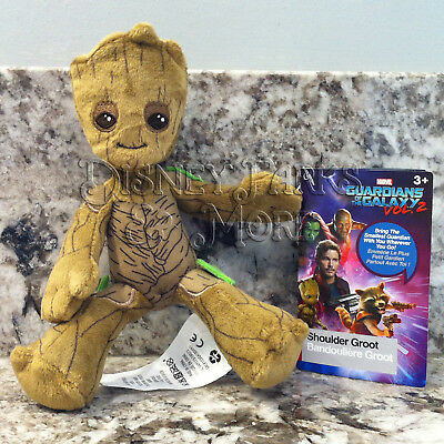 Disney Parks Marvel Guardians of the Galaxy 2 Shoulder Groot Plush Cosplay Toy