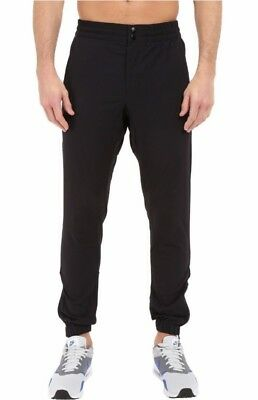 Nike NikeLab Tech Woven Jogger Pants V442 Medium Black Tapered Cuffed NSW  871767 ff752b4d307e
