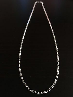 """SALE Dainty Solid .925 Sterling Silver Chain 18"""" - Elegant Gift"""