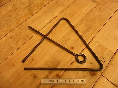 wild west dinner bell triangle musical instrument