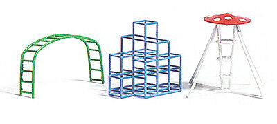 Busch x 3 Assorted Climbing Frames for the Playground HO Scale (suit OO also)
