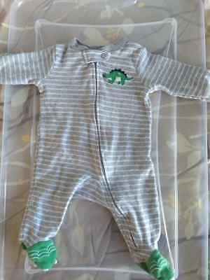 Boys' Clothing (newborn-5t) Well-Educated Polo Ralph Lauren Baby Boy Romper Sz 3 Months Us Coastal Patrol One-pieces