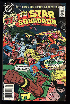 All Star Squadron (1981) #39 1st Print Young All Stars Mark Jewelers Ins VF/NM