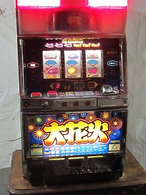 Pachislo Slot Arcade Machine, 3 Wheel