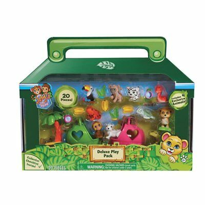 Jungle in my Pocket Deluxe Play Set 20 Pieces Brand New & Sealed