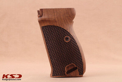 Walther P38 & P 01 Walnut Grip with Landyard ring
