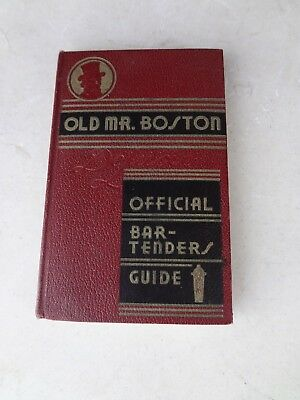 Old Mr Boston Official Bar Tenders Guide March 1935 second printing Deluxe