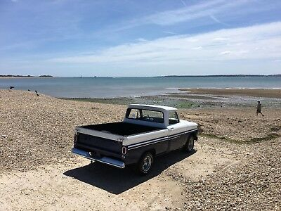1966 V8 Chevy C10 Short Bed Pickup ,deluxe Big Window, 350 Sbc,auto Box, Pas,px