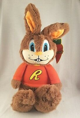 Reese's Hershey's Candy Reester Easter Bunny Rabbit Plush Stuffed Animal Doll