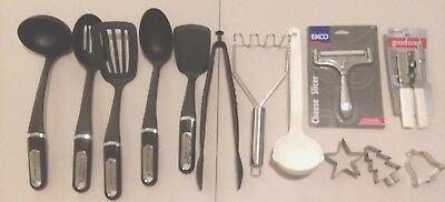 COLLECTION OF NEW and used kitchen utensils, KitchenAid ...