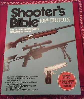 New The Shooters Bible 105th 105 Edition Worlds Bestselling