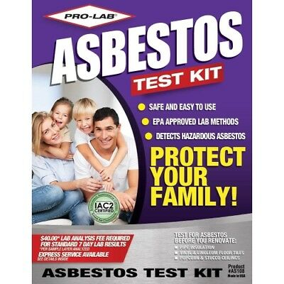 Pro Lab AS108 Asbestos Do It Yourself Test Kit