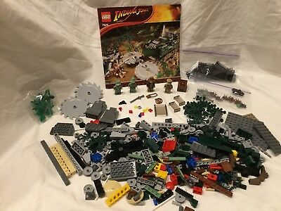 Lego Indiana Jones Jungle Cutter 7626 Comes With Instructions