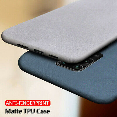 For Xiaomi Redmi Note 7 6 Pro 7 Note 8 4X Sandstone Matte Hard Back Cover Case