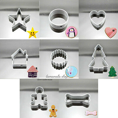 34 Shapes Biscuit Cookie Cake Pastry Fondant Mold Mould Cutter