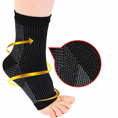 Magnetic Ankle Support Brace Foot Sleeve Running Copper Compression Socks Unisex