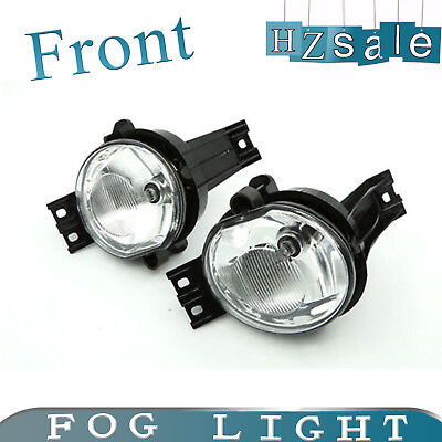2002-2008 Ram 1500 2500 Assembly Driving Fog Lights Kit Pickup Clear Bumper