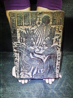 EGYPTIAN ANTIQUES  ANTIQUITIES Tutankhamun Throne Stela Relief 1365-1310 BC