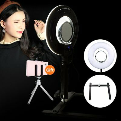 """Fotoconic 8"""" Handheld LED Ring Light Photo With 120 SMD Beadds For Live Makeup"""
