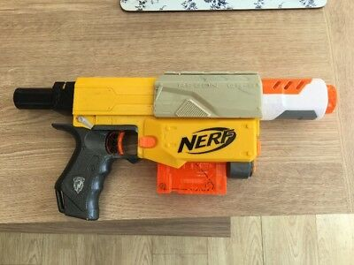 Nerf Recon + Barrel Extension + 6 Dart Magazine