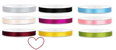 satin ribbon 6mm double sided crafts decoration florist gift wrapping