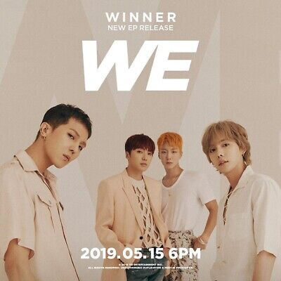 WINNER [WE] 2nd Mini Album CD+POSTER+Photo Book+Post Card+Polaroid+Card Set+GIFT