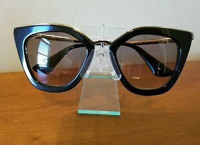 AUTHENTIC PRADA SUNGLASSES Women SPR 15T Brown VIR-1G0 SPR15T 48mm ... ef6211ee9c