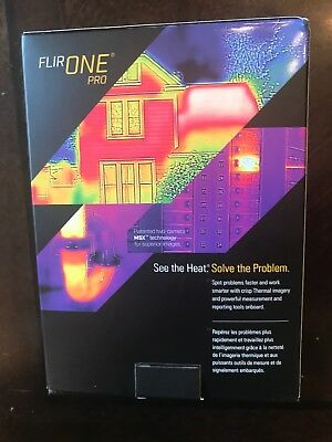 FLIR ONE Pro Thermal Imaging Camera for iOS Home Improvement Construction Tool
