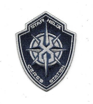 The Expanse TV Series Star Helix Ceres Station Logo Embroidered Patch NEW UNUSED