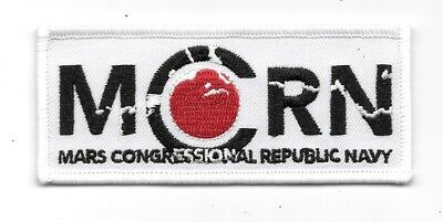 The Expanse TV Series MCRN Logo Embroidered Patch NEW UNUSED