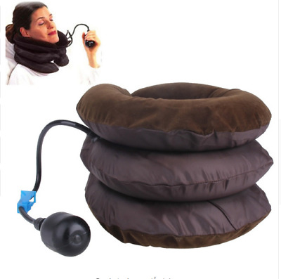 Cervical Neck Traction Device, Inflatable Neck Massager Stretcher Improve