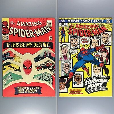 Amazing Spider-Man #31 121 First Appearance & Death of GWEN STACY FN