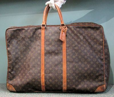 cfa258655800 Authentic Louis Vuitton Monogram Canvas Sirius 70 Travel Luggage Soft  Suitcase