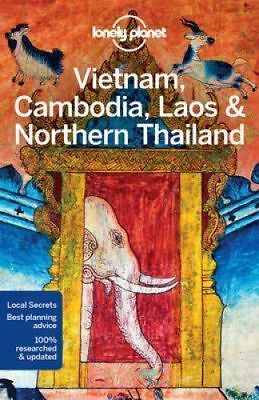 Lonely Planet Vietnam, Cambodia, Laos & Northern Thailand travel guide 2017 new