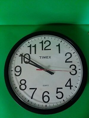 Timex battery wall clock, 12 inch , American Time