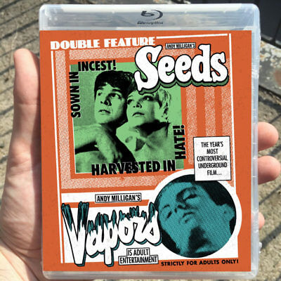 SEEDS / VAPORS (new Blu-ray/DVD direct from Vinegar Syndrome)