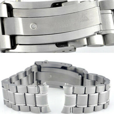 Replacement OMEGA S/Steel 20mm Watch Band Strap Bracelet For OMEGA Speedmaster S