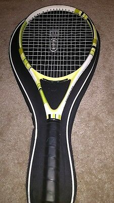 New Wilson Ncode W4 Savage Lime n code adult racket + case 107 last ones 4 3/8""