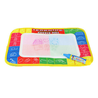 New Water Drawing Painting Writing Mat Board Magic Pen Doodle Gift 29 x 19cm