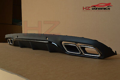 Mercedes Benz C Class 2Dr Coupe C63 Amg Type Rear Diffuser W205 2014 Exhaust Tip