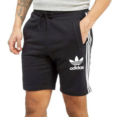 ad7cac6e23 Adidas Originals CLFN Shorts Size XL Brand New With Tags Black White Fleece  Mens