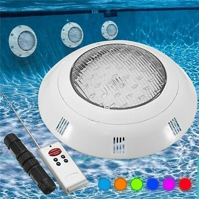 18W RGB LED Swimming Pool Light Underwater Waterproof Remote Control Wall Mounte