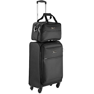 Cabin Max Copenhagen Business Hand Luggage Set Trolley Suitcase Travel Case Bag