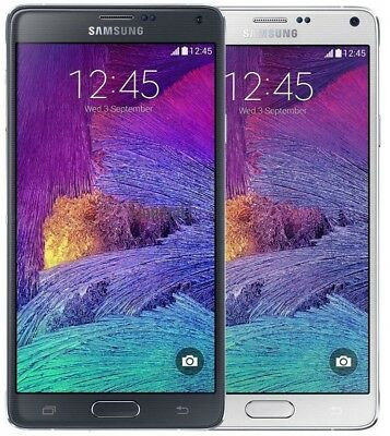 Samsung Galaxy Note 4 IV N910V Verizon AT&T T-Mobile GSM UNLOCKED Cell Phone