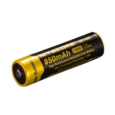 Nitecore NL1485 850mAh 14500 High Performance Li-ion Rechargeable Battery for Fl