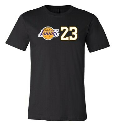 online store 808ed b7519 LEBRON JAMES LOS Angeles Lakers Jersey shirt #23 S-3XL